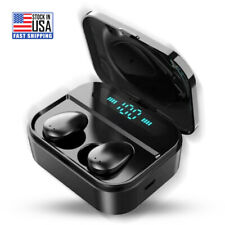 TWS Wireless Bluetooth Earphone waterproof Earbud for all mobile phones with Mic