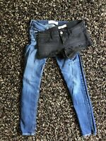 Lot Of Holister Women's Jeans 3S 26W 29L & Hollister Shorts 26W