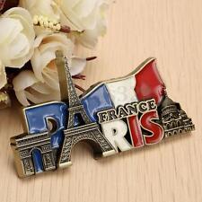 Paris' Landmarks, France, Tourist Travel Souvenir 3D Metal Fridge Magnet Gift