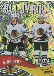 20-21 2020-21 Skybox Metal DeBrincat-Kane Alloyance INSERT #AL-15 Blackhawks