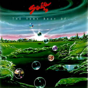 """CD """" SAGA - THE VERY BEST OF """" 15 SONGS (WIND HIM UP) - ZUSTAND SEHR GUT"""