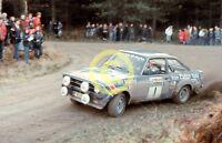 Photo Bjorn Waldegard Works GP4 Eaton Yale Escort RS1800 1978 Lombard RAC Rally