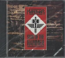 Manowar/Sign of the Hammer * NEW CD * NUOVO *