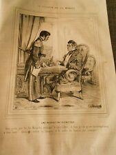 Litho 1843 - Civilisation aux Iles Marquises Une instruction diplomatique