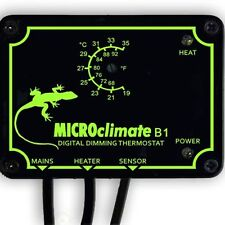 Microclimate B1 Dimming Thermostat Vivarium Dimmer Stat Snake Lizard Dimmer