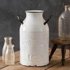 Primitive Farmhouse Country 1915 Oxford Dairy Farms Milk Can Bottle,Vase,14.5''H