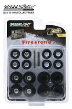 GreenLight 1/64 Auto Body Shop Kings of Crunch Firestone Series 1 16010-A