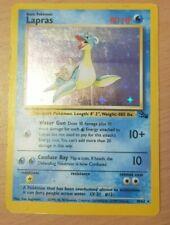 Pokemon Lapras 10/62 Fossil Rare Shiny Holo 1999