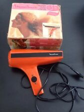 Sèche cheveux - MOULINEX vintage futuriste orange
