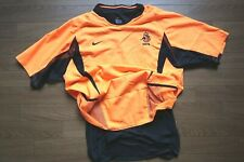 Netherlands Holland 100% Authentic PI Soccer Football Jersey L 2002/2003 [458]