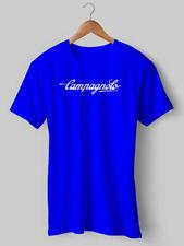 Campagnolo TShirt Cycling t shirt Blue Vintage tee Eroica bike NEW Printed 11