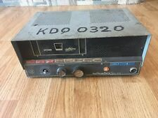 Vintage Hallicrafters CB Radio CB-3A With 8 Crystals Xtals For Parts Or Repair