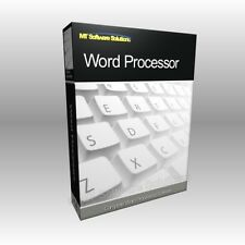 ASC-Word Processor MS 2003 2010 2013 compatible Logiciel Programme Informatique