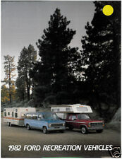 1982 FORD CAMPER TRUCK SALES BROCHURE BOOK CATALOG