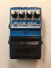 DOD Digitech FX64 Ice Box V3 Stereo Analog Chorus Rare Guitar Effect Pedal