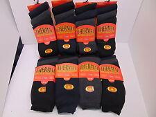 Lote De Trabajo Hombre Térmico Calcetines de trabajo sólo Color Oscuro