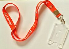 Arsenal lanyard neck strap ID office ID card holder tag