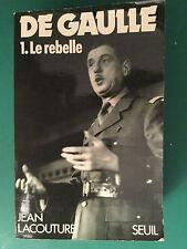 Nachlaß PIERRE BRICE de Gaulle - Le rebelle, aus seiner Sammlung! Nachlaßstempel