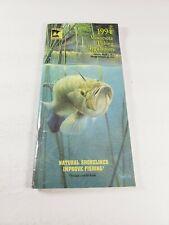 Vintage Minnesota Fishing Regulations Booklet 1994 - 1995 Natural Resources