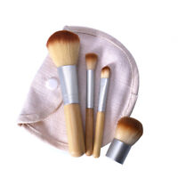 Eg _ LX _ 4 Pezzi Donna Cosmetico Spazzola Fondotinta Polvere Ombretto Trucco
