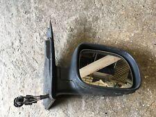 VW Lupo Arosa Stubby controlador 125 mm NEGRO Espejo Puerta Derecha
