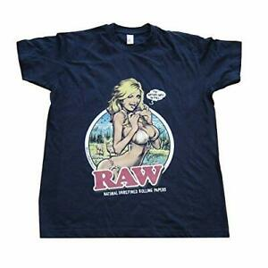 Raw Rolling Papers RAW Girl - RAWthentic T Shirt | RAW accessories
