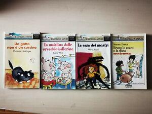 Lotto 4 libri per bambini e ragazzi IL BATTELLO A VAPORE - OFFERTA