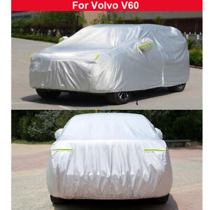 1PCS New Car Cover Waterproof Heat Sun Dust Cover For Volvo V60 2013-2021