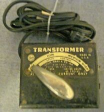 MARX MODEL RAILROAD O-SCALE AC ONLY 1239 TRANSFORMER NEEDS NEW CORD