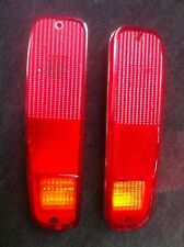FORD F100 TAIL LIGHT PAIR L+R FOR 74-80 ( WITH AMBER INDICATOR )