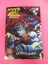 COMIX FUMETTO STREET FIGHTER 6 LA SCELTA DI RYU Jade Dinasty 1997 (FU5)