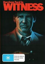WITNESS (Harrison FORD Kelly McGILLIS Lukas HAAS) Crime Romantic Film DVD Reg 4