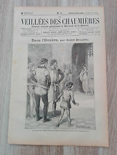Journal illustré 1909  - Veillées des Chaumières - 25 septembre - Dans l'Ornière