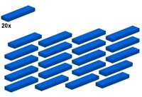 LEGO  CLASSIC   22 FLIESEN 2431 4624705 in türkis blue medium azur 1x4   NEU