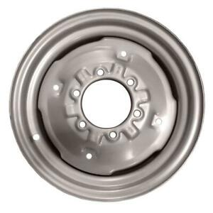 """8N1015D 16"""" 6 Hole Front Wheel Rim Fits Ford Tractor 8N NAA Jubilee 600 800"""