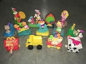 Vintage McDonald's 1994 Birthday Train set 13 cars Barbie Snoopy CPK Muppets ET