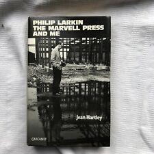 Philip Larkin The Marvell Press & Me Jean Hartley 1st HB/DW