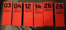 Star Wars Titanium Black Series New in box Lot of 6, 03, 04, 12, 14,  26, & 28