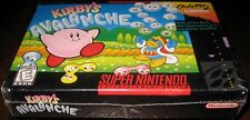 Kirby's Avalanche (Super Nintendo Entertainment System, 1995) ~Sealed~