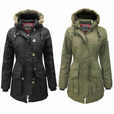 Brave Soul Hip Length Polyester Outdoor Women's Coats & Jackets