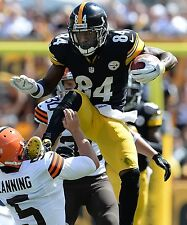 ANTONIO BROWN 8X10 PHOTO PITTSBURGH STEELERS PICTURE NFL FOOTBALL