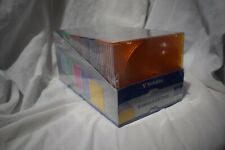 Verbatim Case CD / DVD Slim 5 Assorted Colors 50pk Standard JEWEL Cases Durable