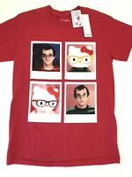 Hello Kitty X Keith Haring T-Shirt Small Red NWT