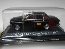 Taxi car volvo 144 Copenhagen 1972 Denmark 1/43 1:43 model car denmark