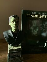 Sideshow Universal Monsters Legacy Frankenstein Karloff Mini Bust & Movie DVD's