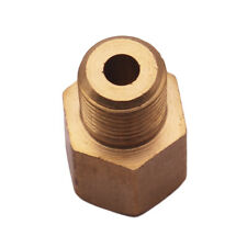 """Brass Pipe Fitting  Adapter 1/8"""" Male NPT X 1/8"""" Female NPT Reducer"""