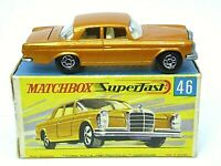 Matchbox Lesney No.46c Mercedes-Benz 300SE Coupe In Type 'G2' With 'New' Box