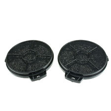 Cooker Oven Hood Carbon Filter Round For B&Q CATA Designair Cooke & Lewis 2 Pack