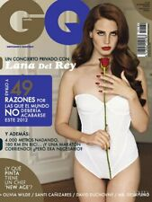 GQ Spain Spanish Magazine 2012 LANA DEL REY Duchovny OLIVIA WILDE Sealed