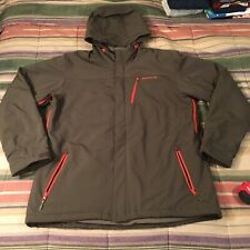 MERRELL opti Shell Primaloft Full Zip Hooded Parka Jacket Coat XL
